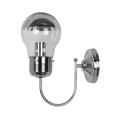 Светильник Odeon light 3351/1WЛофт<br><br><br>Тип лампы: Накаливания / энергосбережения / светодиодная<br>Тип цоколя: E27<br>Количество ламп: 1<br>Ширина, мм: 285<br>MAX мощность ламп, Вт: 60<br>Длина, мм: 130<br>Высота, мм: 380
