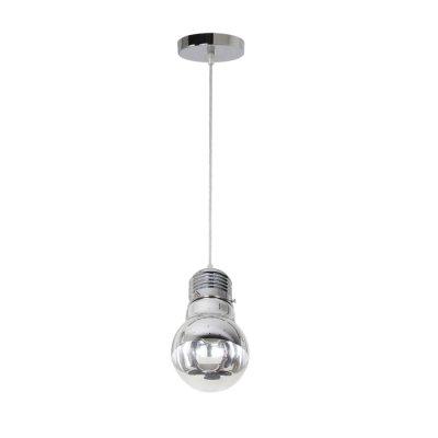 Светильник Odeon light 3351/1Одиночные<br><br><br>S освещ. до, м2: 3<br>Тип лампы: Накаливания / энергосбережения / светодиодная<br>Тип цоколя: E27<br>Количество ламп: 1<br>Диаметр, мм мм: 150<br>Высота, мм: 210 - 1275<br>MAX мощность ламп, Вт: 60