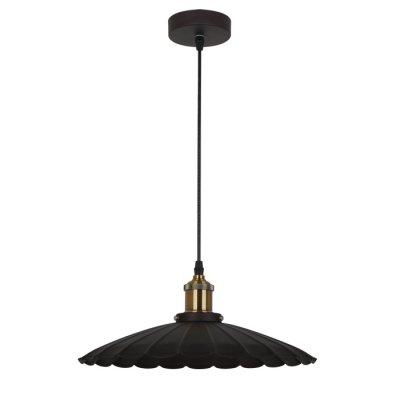Светильник Odeon light 3369/1Подвесные<br><br><br>Установка на натяжной потолок: Да<br>S освещ. до, м2: 3<br>Тип лампы: Накаливания / энергосбережения / светодиодная<br>Тип цоколя: E27<br>Количество ламп: 1<br>MAX мощность ламп, Вт: 60<br>Диаметр, мм мм: 350<br>Высота, мм: 350 - 1155<br>Цвет арматуры: коричневый