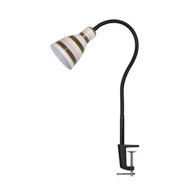 Светильник Odeon light 3371/1TНа струбцине<br><br><br>Тип лампы: Накаливания / энергосбережения / светодиодная<br>Тип цоколя: E27<br>Количество ламп: 1<br>MAX мощность ламп, Вт: 60