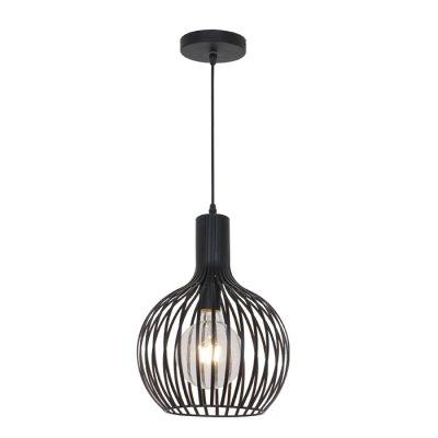 Светильник Odeon light 3380/1одиночные подвесные светильники<br><br><br>S освещ. до, м2: 3<br>Тип лампы: Накаливания / энергосбережения / светодиодная<br>Тип цоколя: E27<br>Количество ламп: 1<br>Диаметр, мм мм: 280<br>Высота, мм: 1430<br>MAX мощность ламп, Вт: 60