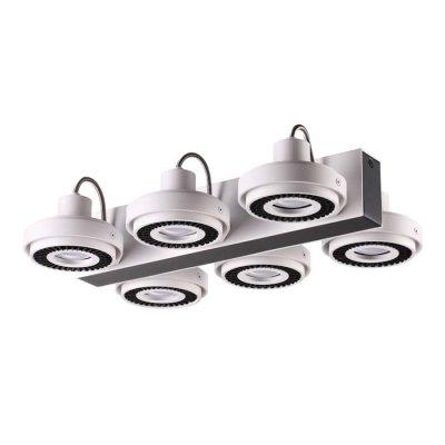 Потолочный светильник Odeon light 3490/6C SATELIUMОжидается<br><br><br>Тип цоколя: GU10<br>Количество ламп: 6<br>Ширина, мм: 416<br>Длина, мм: 292<br>Высота, мм: 88<br>Оттенок (цвет): белый с черным<br>MAX мощность ламп, Вт: 50