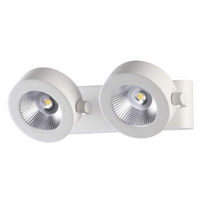 Настенный светильник Odeon light 3493/20WL PUMAVIОжидается<br><br><br>Цветовая t, К: 3000K<br>Тип цоколя: LED<br>Количество ламп: 2<br>Ширина, мм: 255<br>Длина, мм: 184<br>Высота, мм: 80<br>Оттенок (цвет): матовый белый<br>MAX мощность ламп, Вт: 10