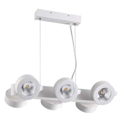 Подвесной светильник Odeon light 3493/60L PUMAVIОжидается<br><br><br>Цветовая t, К: 3000K<br>Тип цоколя: LED<br>Количество ламп: 6<br>Ширина, мм: 336<br>Длина, мм: 520<br>Высота, мм: 1200<br>Оттенок (цвет): матовый белый<br>MAX мощность ламп, Вт: 10