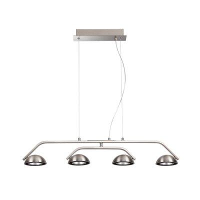 Подвесной светильник Odeon light 3535/4L KARIMAОжидается<br><br><br>Цветовая t, К: 3000K<br>Тип цоколя: LED<br>Количество ламп: 4<br>Ширина, мм: 785<br>Длина, мм: 115<br>Высота, мм: 1200<br>Оттенок (цвет): матовый никель<br>MAX мощность ламп, Вт: 7