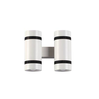 Настенный светильник Odeon light 3545/20LW BINOLEDОжидается<br><br><br>Цветовая t, К: 3000K<br>Тип цоколя: LED<br>Количество ламп: 2<br>Ширина, мм: 135<br>Длина, мм: 64<br>Высота, мм: 120<br>Оттенок (цвет): белый с черным<br>MAX мощность ламп, Вт: 10
