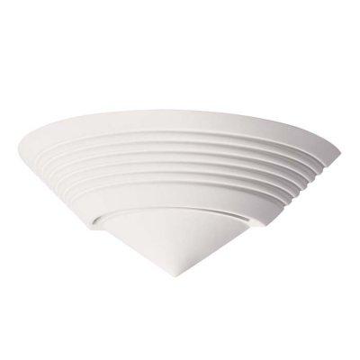 Настенный светильник Odeon light 3547/1W GESSOОжидается<br><br><br>Тип цоколя: E14<br>Количество ламп: 1<br>Ширина, мм: 370<br>Длина, мм: 185<br>Высота, мм: 140<br>Оттенок (цвет): белый гипсовый<br>MAX мощность ламп, Вт: 40
