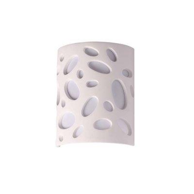 Настенный светильник Odeon light 3549/1W GESSOОжидается<br><br><br>Тип цоколя: G9<br>Количество ламп: 1<br>Ширина, мм: 180<br>Длина, мм: 88<br>Высота, мм: 230<br>Оттенок (цвет): белый гипсовый<br>MAX мощность ламп, Вт: 40