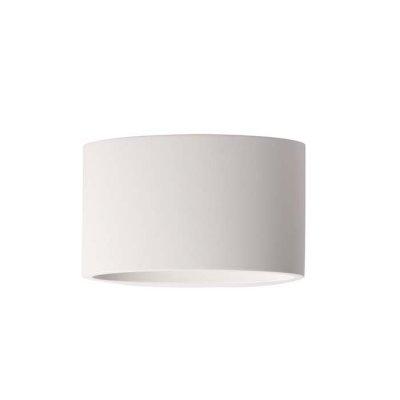 Настенный светильник Odeon light 3550/1W GESSOсовременные бра модерн<br><br><br>Тип лампы: галогенная/LED - светодиодная<br>Тип цоколя: G9<br>Цвет арматуры: белый<br>Количество ламп: 1<br>Ширина, мм: 150<br>Длина, мм: 200<br>Высота, мм: 120<br>Оттенок (цвет): белый гипсовый<br>MAX мощность ламп, Вт: 40
