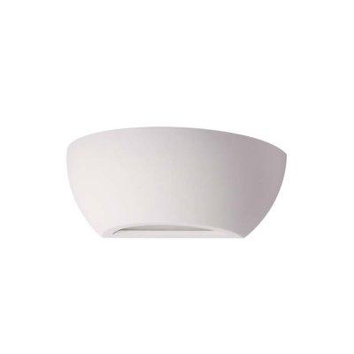 Настенный светильник Odeon light 3551/1W GESSOОжидается<br><br><br>Тип цоколя: E14<br>Количество ламп: 1<br>Ширина, мм: 245<br>Длина, мм: 120<br>Высота, мм: 95<br>Оттенок (цвет): белый гипсовый<br>MAX мощность ламп, Вт: 40