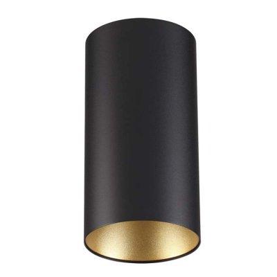 Потолочный накладной светильник Odeon light 3555/1C PRODYОжидается<br><br><br>Тип цоколя: GU10<br>Количество ламп: 1<br>Ширина, мм: 110<br>Длина, мм: 110<br>Высота, мм: 210<br>Оттенок (цвет): черный с золотом<br>MAX мощность ламп, Вт: 50