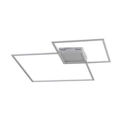 Настенно-потолочный светильник Odeon light 3558/36CL QUADRALEDОжидается<br><br><br>Тип цоколя: LED<br>Количество ламп: 1<br>Ширина, мм: 802<br>Длина, мм: 55<br>Высота, мм: 802<br>Оттенок (цвет): серебристый<br>MAX мощность ламп, Вт: 36