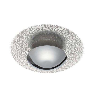 Настенно-потолочный светильник Odeon light 3560/24L SOLARIOОжидается<br><br><br>Цветовая t, К: 3000K<br>Тип цоколя: LED<br>Количество ламп: 1<br>Ширина, мм: 450<br>Длина, мм: 150<br>Высота, мм: 450<br>Оттенок (цвет): серебряное фольгирование<br>MAX мощность ламп, Вт: 24