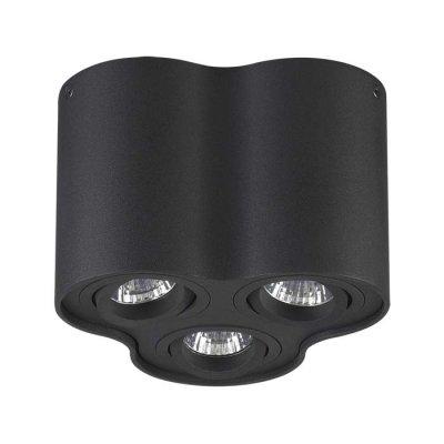 Потолочный накладной светильник Odeon light 3565/3C PILLARONОжидается<br><br><br>Тип цоколя: GU10<br>Количество ламп: 3<br>Ширина, мм: 183<br>Длина, мм: 170<br>Высота, мм: 125<br>Оттенок (цвет): черный<br>MAX мощность ламп, Вт: 50