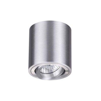 Потолочный накладной светильник Odeon light 3566/1C TUBORINOОжидается<br><br><br>Тип цоколя: GU10<br>Количество ламп: 1<br>Ширина, мм: 80<br>Длина, мм: 80<br>Высота, мм: 85<br>Оттенок (цвет): матовый алюминий<br>MAX мощность ламп, Вт: 50