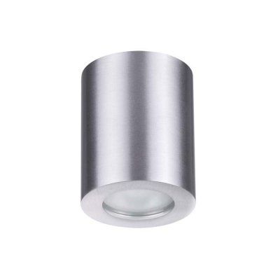 Потолочный накладной светильник Odeon light 3570/1C AQUANAОжидается<br><br><br>Тип цоколя: GU10<br>Количество ламп: 1<br>Ширина, мм: 75<br>Длина, мм: 75<br>Высота, мм: 95<br>Оттенок (цвет): матовый алюминий<br>MAX мощность ламп, Вт: 50