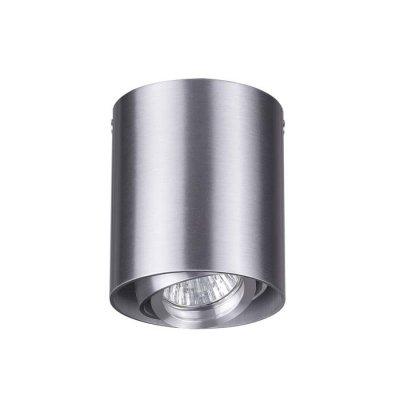 Потолочный накладной светильник Odeon light 3576/1C MONTALAОжидается<br><br><br>Тип цоколя: GU10<br>Количество ламп: 1<br>Ширина, мм: 90<br>Длина, мм: 90<br>Высота, мм: 105<br>Оттенок (цвет): матовый алюминий<br>MAX мощность ламп, Вт: 50