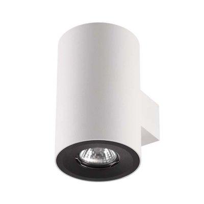 Настенный светильник Odeon light 3581/2W LACUNAОжидается<br><br><br>Тип цоколя: GU10<br>Количество ламп: 2<br>Ширина, мм: 100<br>Длина, мм: 129<br>Высота, мм: 160<br>Оттенок (цвет): белый матовый с черным кольцом<br>MAX мощность ламп, Вт: 50