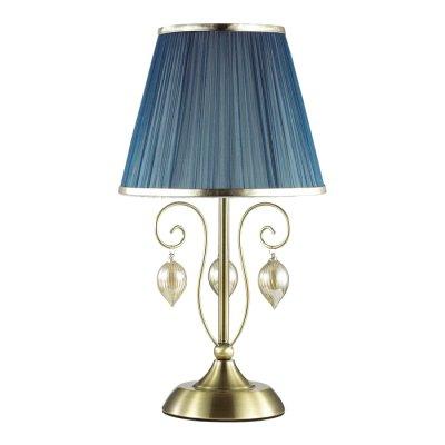 Настольная лампа Odeon light 3921/1T NIAGARAОжидается<br>Великолепная лампа 3921/1T серии Niagara выполнена в классическом стиле. Очень богатое и изящное основание светильника выполнено в благородном бронзовом цвете и дополнено идеально сочетающимися по тону небольшими стеклянными шарами и тонкими бусами, грациозно ниспадающими и переливающимися изысканным глянцем. Завершает этот великолепный дизайн восхитительный абажур из тонкой и полупрозрачной органзы невероятного темно-лазурного цвета, по краям деликатно украшенного тонкой тесьмой металлического оттенка. Этот элитный светильник станет настоящим украшением и достойным предметом интерьера. Цоколь Е14. Мощность 1*40W. Нет ламп в комплекте.<br><br>Тип цоколя: E14<br>Количество ламп: 1<br>Ширина, мм: 250<br>Длина, мм: 250<br>Высота, мм: 588<br>Оттенок (цвет): бронза/ткань/стекло<br>MAX мощность ламп, Вт: 40