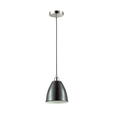 Подвес Odeon light 3974/1 TRINAОжидается<br>Подвес 3974/1 серии Trina выполнен из металла и отлично дополнит интерьер в стиле минимализм, модерн<br><br>Тип цоколя: E27<br>Количество ламп: 1<br>Ширина, мм: 180<br>Длина, мм: 180<br>Высота, мм: 1200<br>Оттенок (цвет): хром/черный<br>MAX мощность ламп, Вт: 60