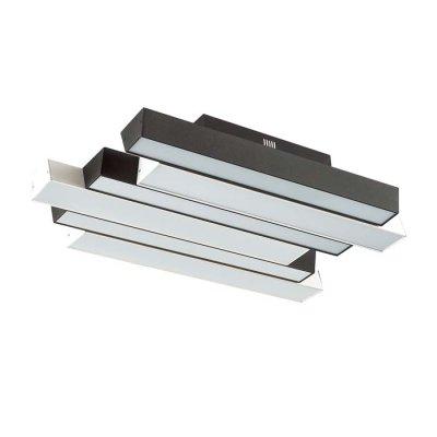 Люстра потолочная Odeon light 4014/71CL REMIОжидается<br><br><br>Тип цоколя: LED<br>Количество ламп: 1<br>Ширина, мм: 365<br>Длина, мм: 630<br>Высота, мм: 90<br>Оттенок (цвет): черный/белый<br>MAX мощность ламп, Вт: 71