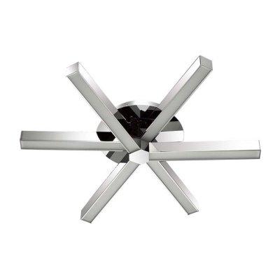 Люстра потолочная Odeon light 4017/35CL VEIRAОжидается<br><br><br>Тип цоколя: LED<br>Количество ламп: 1<br>Ширина, мм: 530<br>Длина, мм: 530<br>Высота, мм: 100<br>Оттенок (цвет): хром/белый<br>MAX мощность ламп, Вт: 35