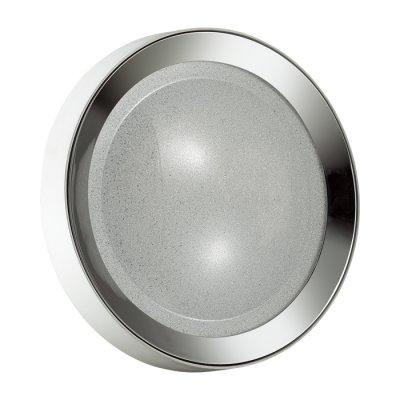 Люстра потолочная Odeon light 4018/38CL TENOОжидается<br><br><br>Тип цоколя: LED<br>Количество ламп: 1<br>Ширина, мм: 500<br>Длина, мм: 500<br>Высота, мм: 75<br>Оттенок (цвет): белый/хром/прозрачный<br>MAX мощность ламп, Вт: 38