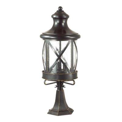 Уличный светильник на столб Odeon light 4045/3B SATIONОжидается<br><br><br>Тип цоколя: E14<br>Количество ламп: 3<br>Ширина, мм: 233<br>Длина, мм: 233<br>Высота, мм: 604<br>Оттенок (цвет): черный/золотая патина/стекло<br>MAX мощность ламп, Вт: 60