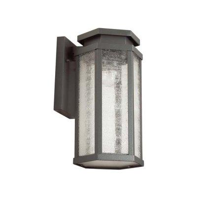 Уличный настенный светильник Odeon light 4048/1W GINOОжидается<br><br><br>Тип цоколя: E27<br>Количество ламп: 1<br>Ширина, мм: 131<br>Длина, мм: 151<br>Расстояние от стены, мм: 164<br>Высота, мм: 270<br>Оттенок (цвет): темно-серый/белый<br>MAX мощность ламп, Вт: 100
