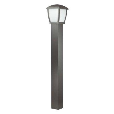 Уличный светильник, 110 см Odeon light 4051/1F TAKOОжидается<br><br><br>Тип цоколя: E27<br>Количество ламп: 1<br>Ширина, мм: 170<br>Длина, мм: 170<br>Высота, мм: 1100<br>Оттенок (цвет): темно-серый/матовый белый<br>MAX мощность ламп, Вт: 100
