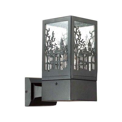 Уличный настенный светильник Odeon light 4054/1W FRESSIОжидается<br><br><br>Тип цоколя: E27<br>Количество ламп: 1<br>Ширина, мм: 105<br>Длина, мм: 600<br>Расстояние от стены, мм: 160<br>Высота, мм: 216<br>Оттенок (цвет): коричневый/прозрачый<br>MAX мощность ламп, Вт: 60