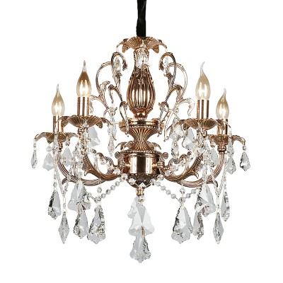 Omnilux oml-77723-05 Светильникподвесные хрустальные люстры<br><br><br>Установка на натяжной потолок: Да<br>S освещ. до, м2: 15<br>Тип лампы: Накаливания / энергосбережения / светодиодная<br>Тип цоколя: E14<br>Количество ламп: 5<br>Диаметр, мм мм: 600<br>Высота, мм: 800 - 1350<br>MAX мощность ламп, Вт: 60