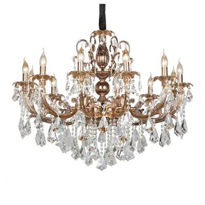 Omnilux oml-77723-12 СветильникПодвесные<br><br><br>Установка на натяжной потолок: Да<br>S освещ. до, м2: 36<br>Тип лампы: Накаливания / энергосбережения / светодиодная<br>Тип цоколя: E14<br>Количество ламп: 12<br>Диаметр, мм мм: 950<br>Высота, мм: 1050 - 1550<br>MAX мощность ламп, Вт: 60