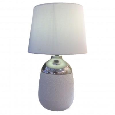 Omnilux OML-82404-01 СветильникНастольные лампы с абажуром<br>Настольная лампа – это не просто источник дополнительного освещения, но и оригинальный элемент декора. Его можно установить в спальне, гостиной, кабинете и других комнатах. Интернет-магазин «Светодом» предлагает настольные лампы разных стилей по доступным ценам. Благодаря большому ассортименту Вы обязательно найдете в нашем каталоге именно ту модель, которую искали.   Настольная лампа Omnilux OML-82404-01 – прекрасный вариант для завершения интерьера. Ее можно включить одновременно с люстрой для более яркого освещения или без нее для создания уютной атмосферы, настраивающей на отдых.   Купить настольную лампу Omnilux OML-82404-01 Вы можете с помощью виртуальной «Корзины» или по контактным номерам, указанным на сайте.<br><br>Тип цоколя: E27<br>Цвет арматуры: белый<br>Количество ламп: 1<br>Диаметр, мм мм: 280<br>Высота, мм: 420<br>MAX мощность ламп, Вт: 60