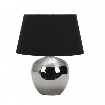 Omnilux OML-82504-01 СветильникНастольные лампы с абажуром<br>Настольная лампа – это не просто источник дополнительного освещения, но и оригинальный элемент декора. Его можно установить в спальне, гостиной, кабинете и других комнатах. Интернет-магазин «Светодом» предлагает настольные лампы разных стилей по доступным ценам. Благодаря большому ассортименту Вы обязательно найдете в нашем каталоге именно ту модель, которую искали.   Настольная лампа Omnilux OML-82504-01 – прекрасный вариант для завершения интерьера. Ее можно включить одновременно с люстрой для более яркого освещения или без нее для создания уютной атмосферы, настраивающей на отдых.   Купить настольную лампу Omnilux OML-82504-01 Вы можете с помощью виртуальной «Корзины» или по контактным номерам, указанным на сайте.<br><br>Тип цоколя: E27<br>Цвет арматуры: черный<br>Количество ламп: 1<br>Диаметр, мм мм: 280<br>Высота, мм: 360<br>MAX мощность ламп, Вт: 60