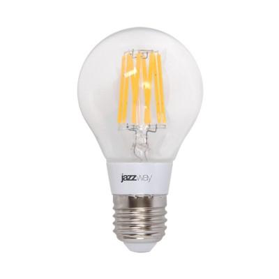 Лампа филаментная Jazzway LED A60 OMNI 6W E27 2700K 540LmFilament LED<br>В интернет-магазине «Светодом» можно купить не только люстры и светильники, но и лампочки. В нашем каталоге представлены светодиодные, галогенные, энергосберегающие модели и лампы накаливания. В ассортименте имеются изделия разной мощности, поэтому у нас Вы сможете приобрести все необходимое для освещения.   Лампа Jazzway LED A60 OMNI 6W E27 2700K 540Lm обеспечит отличное качество освещения. При покупке ознакомьтесь с параметрами в разделе «Характеристики», чтобы не ошибиться в выборе. Там же указано, для каких осветительных приборов Вы можете использовать лампу Jazzway LED A60 OMNI 6W E27 2700K 540LmJazzway LED A60 OMNI 6W E27 2700K 540Lm.   Для оформления покупки воспользуйтесь «Корзиной». При наличии вопросов Вы можете позвонить нашим менеджерам по одному из контактных номеров. Мы доставляем заказы в Москву, Екатеринбург и другие города России.<br><br>Цветовая t, К: WW - теплый белый 2700-3000 К<br>Тип лампы: LED - светодиодная<br>Тип цоколя: E27<br>MAX мощность ламп, Вт: 6<br>Диаметр, мм мм: 60<br>Высота, мм: 106