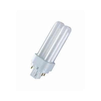 Лампа OSRAM DULUX D/E 10W/21-840 G24q-1 (холодный белый 4000К) - лампа 4050300017587