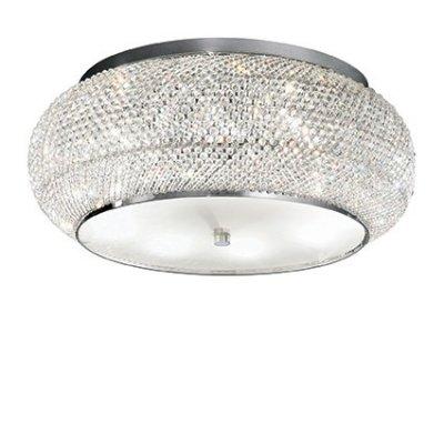 Потолочный светильник Ideal Lux PASHA PL10 CROMOхрустальные потолочные люстры<br>Компания «Светодом» предлагает широкий ассортимент люстр от известных производителей. Представленные в нашем каталоге товары выполнены из современных материалов и обладают отличным качеством. Благодаря широкому ассортименту Вы сможете найти у нас люстру под любой интерьер. Мы предлагаем как классические варианты, так и современные модели, отличающиеся лаконичностью и простотой форм.  Стильная люстра Ideal lux PASHA PL10 CROMO станет украшением любого дома. Эта модель от известного производителя не оставит равнодушным ценителей красивых и оригинальных предметов интерьера. Люстра Ideal lux PASHA PL10 CROMO обеспечит равномерное распределение света по всей комнате. При выборе обратите внимание на характеристики, позволяющие приобрести наиболее подходящую модель. Купить понравившуюся люстру по доступной цене Вы можете в интернет-магазине «Светодом».<br><br>Установка на натяжной потолок: Да<br>S освещ. до, м2: 20<br>Тип цоколя: E14<br>Количество ламп: 10<br>Диаметр, мм мм: 550<br>Высота, мм: 210<br>MAX мощность ламп, Вт: 40