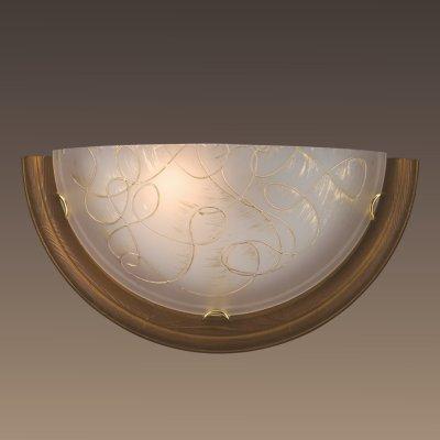 Светильник Сонекс 003 SN15 PROVENCE BROWNНакладные<br><br><br>Тип лампы: накаливания / энергосбережения / LED-светодиодная<br>Тип цоколя: E27<br>Количество ламп: 1<br>MAX мощность ламп, Вт: 100<br>Цвет арматуры: золотой
