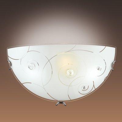 Светильник Сонекс 047Накладные<br><br><br>S освещ. до, м2: 6<br>Тип лампы: накаливания / энергосбережения / LED-светодиодная<br>Тип цоколя: E27<br>Количество ламп: 1<br>Ширина, мм: 300<br>MAX мощность ламп, Вт: 100<br>Высота, мм: 150<br>Цвет арматуры: серебристый