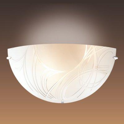 Настенный светильник Сонекс 1206 хром/белый TRENTAНакладные<br><br><br>S освещ. до, м2: 4<br>Тип лампы: накаливания / энергосбережения / LED-светодиодная<br>Тип цоколя: E27<br>Количество ламп: 1<br>Ширина, мм: 300<br>MAX мощность ламп, Вт: 60<br>Цвет арматуры: серебристый