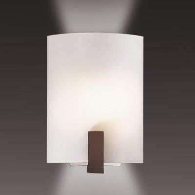 Светильник Сонекс 1216 белый/венге VengaНакладные<br><br><br>S освещ. до, м2: 4<br>Тип лампы: накаливания / энергосбережения / LED-светодиодная<br>Тип цоколя: E14<br>Количество ламп: 1<br>Ширина, мм: 195<br>MAX мощность ламп, Вт: 60<br>Высота, мм: 285<br>Цвет арматуры: черный