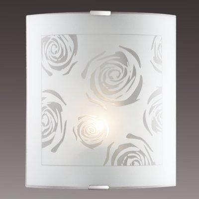 Светильник бра Сонекс 1229/M никель/белый PAVIAНакладные<br><br><br>S освещ. до, м2: 4<br>Тип лампы: накаливания / энергосбережения / LED-светодиодная<br>Тип цоколя: E27<br>Количество ламп: 1<br>Ширина, мм: 224<br>MAX мощность ламп, Вт: 60<br>Высота, мм: 260<br>Цвет арматуры: серый