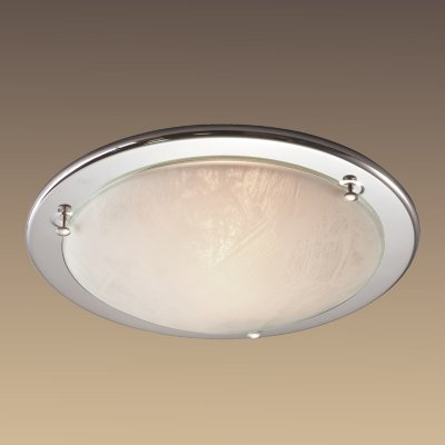 Светильник Сонекс 122 хром AlabastroКруглые<br>Настенно потолочный светильник Сонекс (Sonex) 122 подходит как для установки в вертикальном положении - на стены, так и для установки в горизонтальном - на потолок. Для установки настенно потолочных светильников на натяжной потолок необходимо использовать светодиодные лампы LED, которые экономнее ламп Ильича (накаливания) в 10 раз, выделяют мало тепла и не дадут расплавиться Вашему потолку.<br><br>S освещ. до, м2: 6<br>Тип лампы: накаливания / энергосбережения / LED-светодиодная<br>Тип цоколя: E27<br>Количество ламп: 1<br>MAX мощность ламп, Вт: 100<br>Диаметр, мм мм: 310<br>Цвет арматуры: серебристый