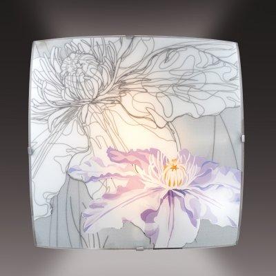 Потолочный светильник Сонекс 1230 никель/белый/фиолетов IRISКвадратные<br>Настенно-потолочные светильники – это универсальные осветительные варианты, которые подходят для вертикального и горизонтального монтажа. В интернет-магазине «Светодом» Вы можете приобрести подобные модели по выгодной стоимости. В нашем каталоге представлены как бюджетные варианты, так и эксклюзивные изделия от производителей, которые уже давно заслужили доверие дизайнеров и простых покупателей.  Настенно-потолочный светильник Сонекс 1230 станет прекрасным дополнением к основному освещению. Благодаря качественному исполнению и применению современных технологий при производстве эта модель будет радовать Вас своим привлекательным внешним видом долгое время. Приобрести настенно-потолочный светильник Сонекс 1230 можно, находясь в любой точке России.<br><br>S освещ. до, м2: 4<br>Тип лампы: накаливания / энергосбережения / LED-светодиодная<br>Тип цоколя: E27<br>Цвет арматуры: серый<br>Количество ламп: 1<br>Ширина, мм: 300<br>Длина, мм: 300<br>MAX мощность ламп, Вт: 60