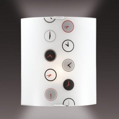 Светильник бра Сонекс 1236/A никель/белый/черн/красн/сер TIMEНакладные<br><br><br>S освещ. до, м2: 4<br>Тип лампы: накаливания / энергосбережения / LED-светодиодная<br>Тип цоколя: E27<br>Количество ламп: 1<br>Ширина, мм: 224<br>MAX мощность ламп, Вт: 60<br>Высота, мм: 260<br>Цвет арматуры: серый