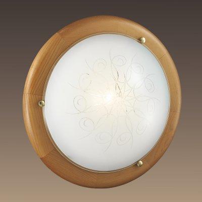Светильник Сонекс 125 KALDAКруглые<br>Настенно-потолочные светильники – это универсальные осветительные варианты, которые подходят для вертикального и горизонтального монтажа. В интернет-магазине «Светодом» Вы можете приобрести подобные модели по выгодной стоимости. В нашем каталоге представлены как бюджетные варианты, так и эксклюзивные изделия от производителей, которые уже давно заслужили доверие дизайнеров и простых покупателей.  Настенно-потолочный светильник Сонекс 125 станет прекрасным дополнением к основному освещению. Благодаря качественному исполнению и применению современных технологий при производстве эта модель будет радовать Вас своим привлекательным внешним видом долгое время. Приобрести настенно-потолочный светильник Сонекс 125 можно, находясь в любой точке России.<br><br>S освещ. до, м2: 5<br>Тип лампы: Накаливания / энергосбережения / светодиодная<br>Тип цоколя: E27<br>Цвет арматуры: коричневый<br>Количество ламп: 1<br>Диаметр, мм мм: 350<br>MAX мощность ламп, Вт: 100
