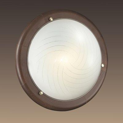Светильник Сонекс 158 VIRAКруглые<br>Настенно-потолочные светильники – это универсальные осветительные варианты, которые подходят для вертикального и горизонтального монтажа. В интернет-магазине «Светодом» Вы можете приобрести подобные модели по выгодной стоимости. В нашем каталоге представлены как бюджетные варианты, так и эксклюзивные изделия от производителей, которые уже давно заслужили доверие дизайнеров и простых покупателей.  Настенно-потолочный светильник Сонекс 158 станет прекрасным дополнением к основному освещению. Благодаря качественному исполнению и применению современных технологий при производстве эта модель будет радовать Вас своим привлекательным внешним видом долгое время. Приобрести настенно-потолочный светильник Сонекс 158 можно, находясь в любой точке России. Компания «Светодом» осуществляет доставку заказов не только по Москве и Екатеринбургу, но и в остальные города.<br><br>S освещ. до, м2: 1<br>Тип лампы: Накаливания / энергосбережения / светодиодная<br>Тип цоколя: E27<br>Количество ламп: 1<br>MAX мощность ламп, Вт: 100<br>Диаметр, мм мм: 310<br>Цвет арматуры: коричневый