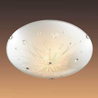 Настенно-потолочный светильник Сонекс 205 хром/белый/декор прозрачн LIKIAКруглые<br>Настенно-потолочные светильники – это универсальные осветительные варианты, которые подходят для вертикального и горизонтального монтажа. В интернет-магазине «Светодом» Вы можете приобрести подобные модели по выгодной стоимости. В нашем каталоге представлены как бюджетные варианты, так и эксклюзивные изделия от производителей, которые уже давно заслужили доверие дизайнеров и простых покупателей.  Настенно-потолочный светильник Сонекс 205 станет прекрасным дополнением к основному освещению. Благодаря качественному исполнению и применению современных технологий при производстве эта модель будет радовать Вас своим привлекательным внешним видом долгое время. Приобрести настенно-потолочный светильник Сонекс 205 можно, находясь в любой точке России.<br><br>S освещ. до, м2: 13<br>Тип лампы: накаливания / энергосбережения / LED-светодиодная<br>Тип цоколя: E27<br>Количество ламп: 2<br>MAX мощность ламп, Вт: 100<br>Диаметр, мм мм: 400<br>Цвет арматуры: серебристый