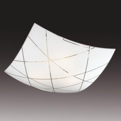 Потолочный светильник Сонекс 2144 хром/белый VASTOКвадратные<br>Настенно-потолочные светильники – это универсальные осветительные варианты, которые подходят для вертикального и горизонтального монтажа. В интернет-магазине «Светодом» Вы можете приобрести подобные модели по выгодной стоимости. В нашем каталоге представлены как бюджетные варианты, так и эксклюзивные изделия от производителей, которые уже давно заслужили доверие дизайнеров и простых покупателей.  Настенно-потолочный светильник Сонекс 2144 станет прекрасным дополнением к основному освещению. Благодаря качественному исполнению и применению современных технологий при производстве эта модель будет радовать Вас своим привлекательным внешним видом долгое время. Приобрести настенно-потолочный светильник Сонекс 2144 можно, находясь в любой точке России.<br><br>S освещ. до, м2: 13<br>Тип лампы: накаливания / энергосбережения / LED-светодиодная<br>Тип цоколя: E27<br>Цвет арматуры: серебристый<br>Количество ламп: 2<br>Ширина, мм: 300<br>Длина, мм: 300<br>MAX мощность ламп, Вт: 100